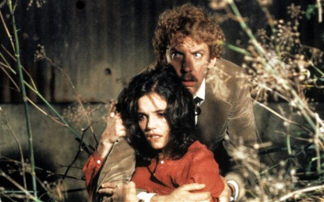 Brooke Adams and Donald Sutherland in Invasion of the Body Snatchers.
