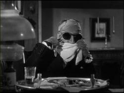 Claude Rains is The Invisible Man.