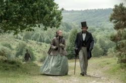 Felicity Jones and Ralph Fiennes in The Invisible Woman.