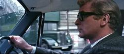 Michael Caine is Harry Palmer in The Ipcress File.