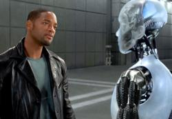Will Smith in I, Robot.