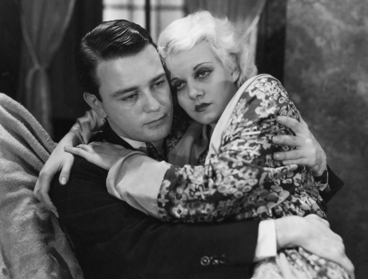 Lew Ayres and Jean Harlow in Iron Man.