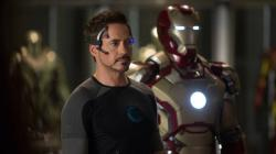 Robert Downy Jr. in Iron Man 3.