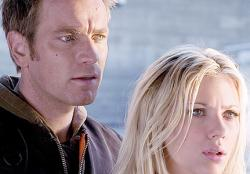 Ewan McGregor and Scarlett Johansson in The Island.