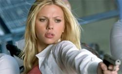 Scarlett Johansson in The Island.