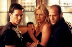 Mark Wahlberg, Charlize Theron and Jason Statham in The Italian Job.