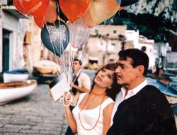 Sophia Loren and Clark Gable in It Started in Naples.