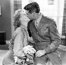 Cary Grant and Ann Sheridan in I Was a Male War Bride.