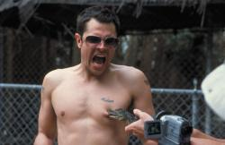 Johnny Knoxville in Jackass: The Movie.