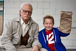 Johnny Knoxville and Jackson Nicoll in Bad Grandpa