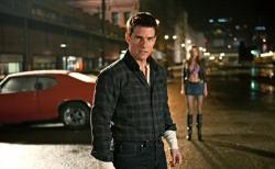Tom Cruise in Jack Reacher.