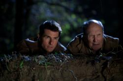 Tom Cruise and Robert Duvall in Jack Reacher.