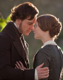 Michael Fassbender and Mia Wasikowska in Jane Eyre