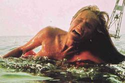 Chrissie is eaten during the opening scene of Jaws.