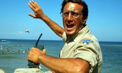 Roy Scheider in Jaws.