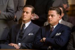 Armie Hammer and Leonardo DiCaprio in J. Edgar