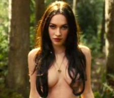 When her mouth is shut and her clothes are scarce, Megan Fox shows real talent.  The rest of the time, not so much.