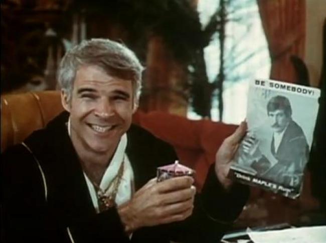Steve Martin in The Jerk.