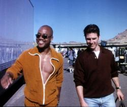 Cuba Gooding Jr. and Tom Cruise in Jerry Maguire.