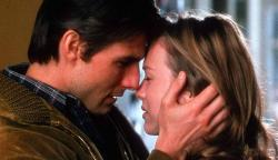 Jerry Maguire and Renee Zellweger in Jerry Maguire.