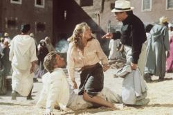 Michael Douglas, Kathleen Turner and Danny DeVito reunite in the disappointing Jewel of the Nile.