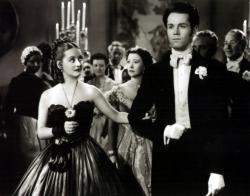 Bette Davis and Henry Fonda in Jezebel.