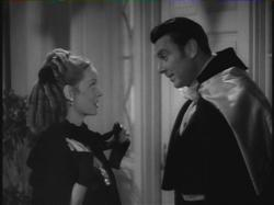Bette Davis and George Brent in Jezebel
