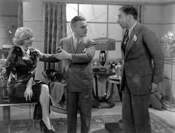 Alice White, James Cagney and Arthur Hohl in Jimmy the Gent.