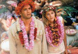 Tom Hanks and Meg Ryan in Joe Versus the Volcano.