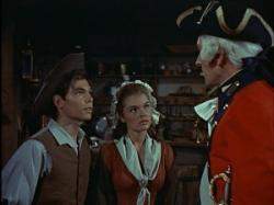 Hal Stalmaster and Luana Patten in Johnny Tremain.