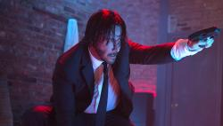 Keanu Reeves in John Wick.