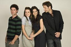 Ben Hollingsworth, Amber Heard, Demi Moore and David Duchovny play the