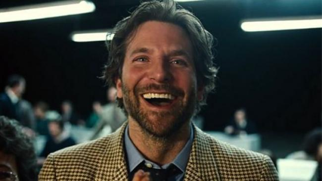Bradley Cooper in Joy.