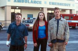 Steve Zahn, Leelee Sobieski and Paul Walker in Joy Ride.