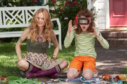 Heather Graham as Aunt Opal and Jordana Beatty as Judy Moody in Judy Moody and the Not Bummer Summer.