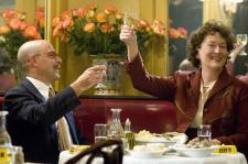 Meryl Streep becomes Julia Child in Julia & Julia.