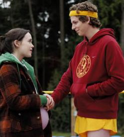 Ellen Page and Michael Cera in Juno.
