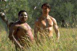 Anthony Anderson and Jerry O'Connell in Kangaroo Jack.