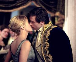 Meg Ryan and Hugh Jackman in Kate & Leopold.