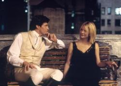 Hugh Jackman and Meg Ryan in Kate & Leopold.