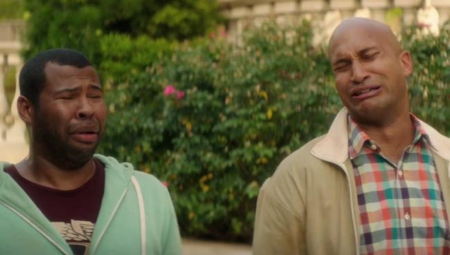 Jordan Peele and Keegan-Michael Key in Keanu