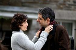 Kristin Scott Thomas and Rowan Atkinson in Keeping Mum.