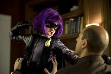 Chloe Grace Moretz as Hit-Girl in Kick-Ass.