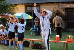 Will Ferrell as Phil Weston coaching The Tigers.