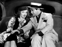 Bette Davis and Edward G. Robinson in Kid Galahad.