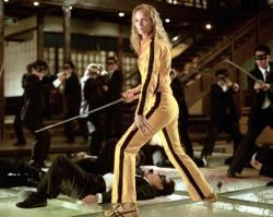 Uma Thurman in Kill Bill: Volume 1.