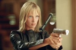 Uma Thurman in Kill Bill: Volume 2.