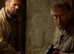 Jason Statham and Robert Deniro in Killer Elite