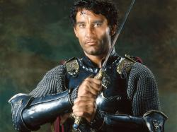 Clive Owen in King Arthur.