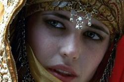 Eva Green in Kingdom of Heaven.